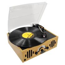 Pyle Home Tornamesa Tocadisco Antiguo Retro Vintage Fm Aux