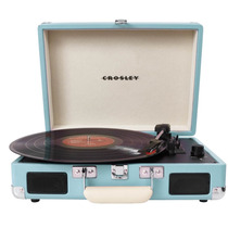 Tornamesa Portatil Crosley Cr8005a-tu Retro Tocadiscos Azul
