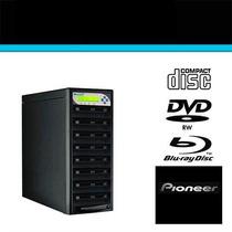 Torre Duplicadora De Blu-ray/cd/dvd De 1 A 7 Copias