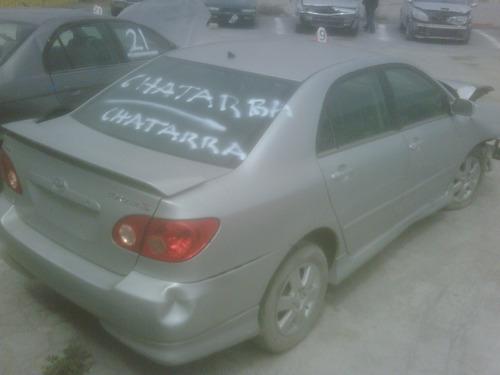 Toyota Corolla 2010 Siniestrado En Partes