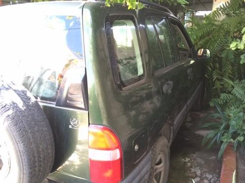 Tracker Modelo 2001 4x4 5 Puertas Verde Bosque Buen Motor