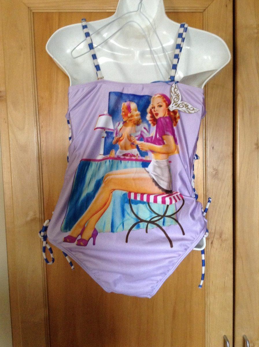 Traje De Baño Mujer Nuevo:Traje De Baño Para Mujer Chico Forever Pin Up – $ 43000 en
