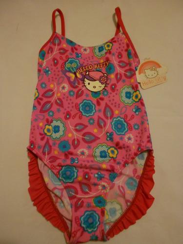 Lenceria De Baño De Hello Kitty:Traje De Baño Para Niña Hello Kitty 8 Años – $ 25998 en