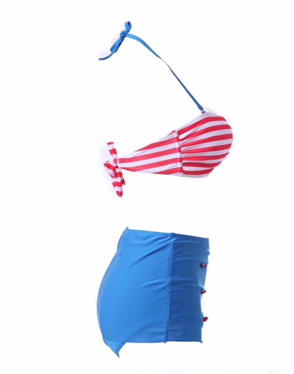 Trajes De Baño Verano Azul:Traje De Baño Precioso Verano Sol Y Playa Envio Inmediato – $ 49000