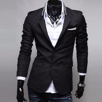 Blazer Moda Japonesa Saco Slim Fit Envio Gratis Entrega Inme