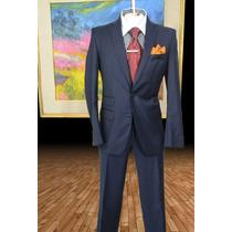 Exclusivo Traje Zara Man Talla 36r Pantalon 30 Marino