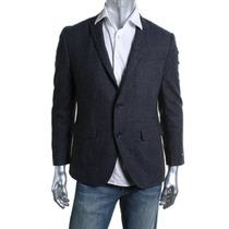 Saco Bar Iii Talla 40 S Slim Fit, Nuevo Con Etiquetas Azul M