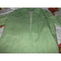Saco Mujer,verde,hecho En India,tanjay,talla M, $1300