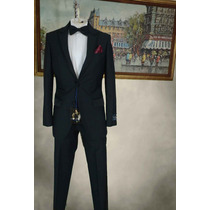 Smoking Tuxedo English Laundry Talla 36r Pantalon 30 Negro