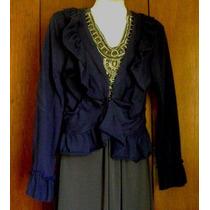 Saco De Tela Camiseta Azul Marino, De Moda. Talla 9-m