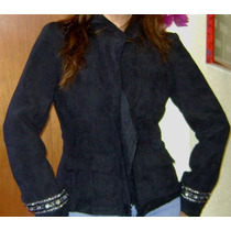City Femme, Sofisticado Saco Negro Tallas 30 Y 34.