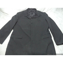 Saco Americano De Lana Stacy Adams Talla 46 R Color Negro