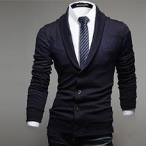 Saco Blazer Caballero Slim Fit Elegante Casual Moda Original