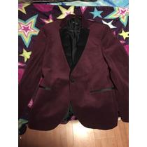 Saco-blazer Hombre C&a Guinda