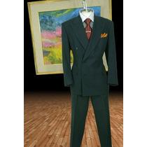 Exclusivo Traje Pierre Cardin Talla 42r Pantalon 36 Gris