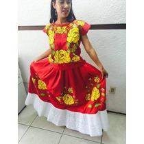Vestidos Bordados A Mano Del Istmo De Oaxaca