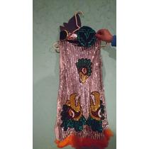 Vestido De Danza Azteca Talla De 8 A 10 Años