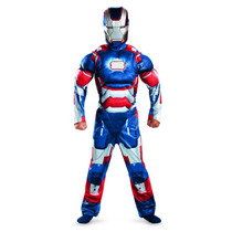 Disfraz Iron Man 3 Patriot Musculoso Original Importado Usa