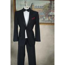 Smoking Tuxedo Jos A. Bank Talla 42r Pantalon 36 Negro