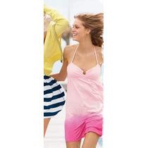 Victorias Secret Pink Pareo Algodón Ligero M
