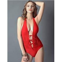 Bikini Monokini Mujer Hermoso Traje De Baño