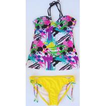 Bikini 2 Piezas Color Amarillo Stilo Ts14