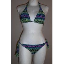 Rusty! Moderno Bikini De Colores, Talla M