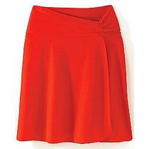 Faldita Tipo Pareo Color Roja Hwo