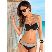 Bikini Traje De Baño Sexy Summer Newest Bk06120 Push Up