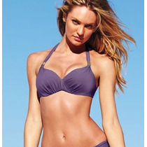 Victorias Secret Bikini Color Purpura Top 36b Panty M Amyglo