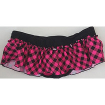 Bikini 1 Pieza Color Rosa-negro Stilo Ts30