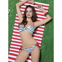 Vicky Form 100% Original Traje De Baño Marinero 2 Pz T M-g