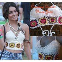 Crop Top Crochet / Bikini , 100% Artesanal.