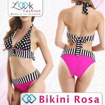 Sexy Bikini Vintage Traje De Baño Deportivo Hermoso Oferta