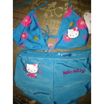 Bikini De Niña De Hello Kitty,talla8años