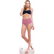 Bikini Marina West Stilo B118 Red White Stripe