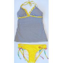 Bikini 2 Piezas Color Amarillo Stilo Ts19