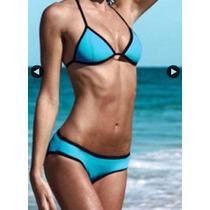 Bikini Neopreno Traje De Baño Moda Importada Asia