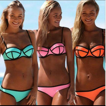 Bikinis Push Up De Neopreno!!.