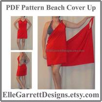 Vestido Pareo Salida De Playa De Toalla Incluye Turbante