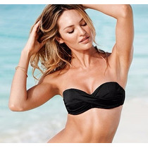 Victorias Secret Bikini Push Up Bandeau Bra 36a / M