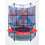 Mini Trampolin Brincolin 1.40 Mt. Red Protectora, Spider Man