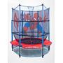 Mini Trampolin Brincolin 1.40 Mt. Red Protectora, Spider Man