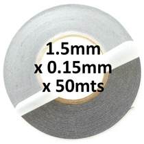 Cinta Doble Cara 3m 9448ab Ancho 1.5mm X 55mts Espesor .15mm
