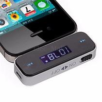 Transmisor Manos Libres Fm 3.5mm Coche Iphone 5s 6s 5c 5
