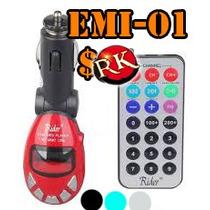 Transmisor Fm Economico Para Carro Memorias Usb Y Micro Sd