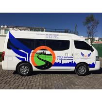 Renta De Camionetas Urvan, Sprinter Con Operador