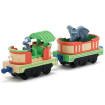 Juguetes Trenes Vagones Set 2 Chuggington Mtambos Safari Car