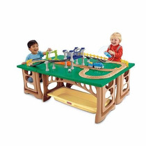 Mesa De Tren Fisher Price Geo Trax
