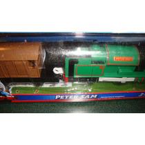 Trackmaster Thomas Y Amigos Peter Sam Motorized Engine Tren